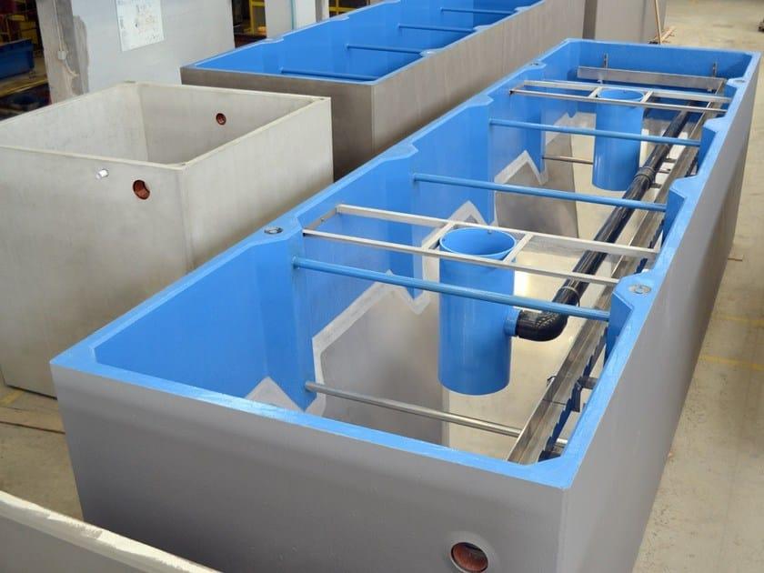 Sedimentation tank for drainage system Dortmund - GAZEBO