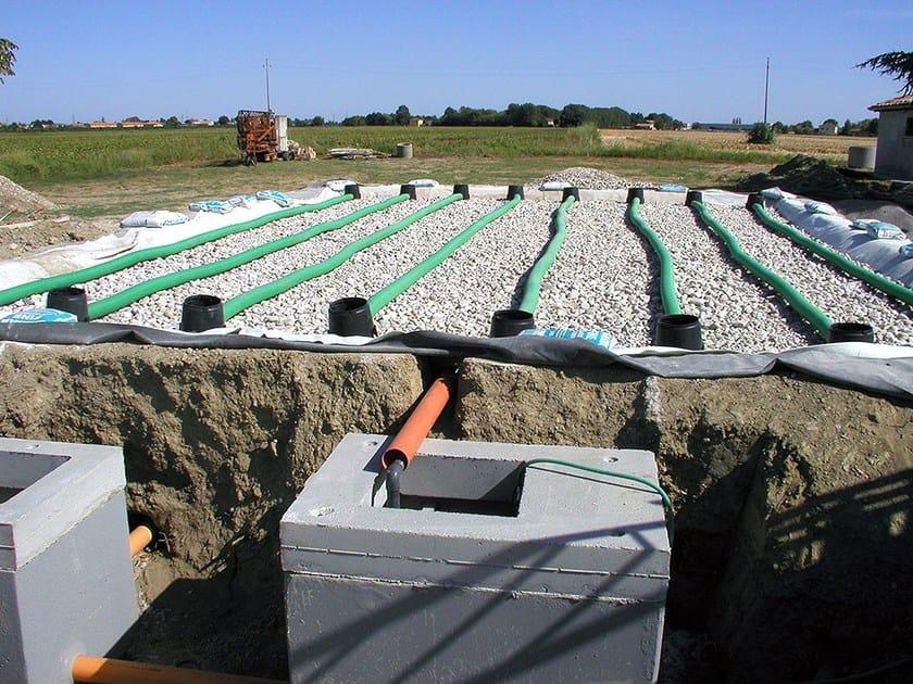 Letti assorbenti di fitodepurazione a flusso verticale for Vassoi assorbenti