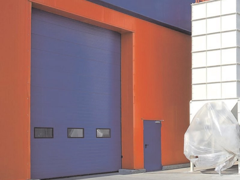 Sectional door SECURA - Breda Sistemi Industriali