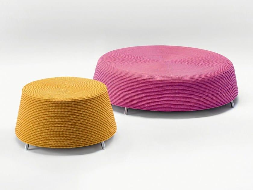 Round garden pouf AFRA | Garden pouf - Paola Lenti