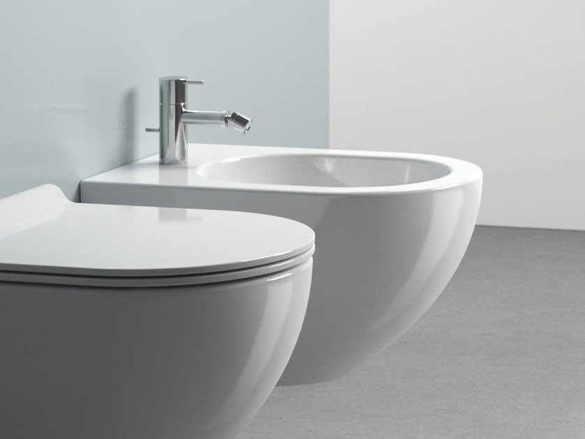 Sfera 50 bidet by ceramica catalano for Ceramica catalano