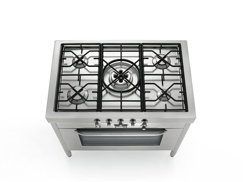 Stainless steel cooker LIBERI IN CUCINA | Cooker - ALPES-INOX