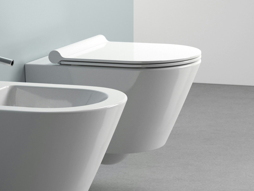 Design wall-hung toilet ZERO 50 | Toilet - CERAMICA CATALANO