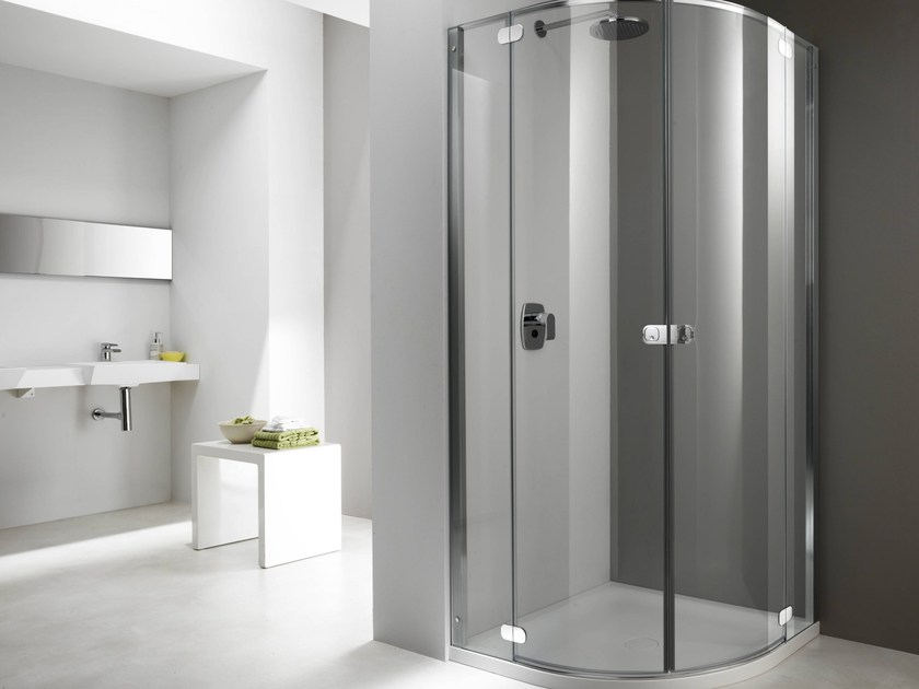 Glass shower cabin FLAT FR - Provex Industrie