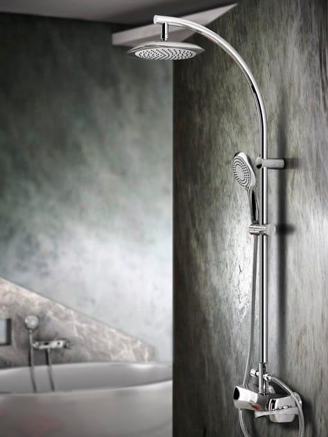 Colonna doccia con doccetta collezione icarus by gattoni - Rubinetteria bagno gattoni ...