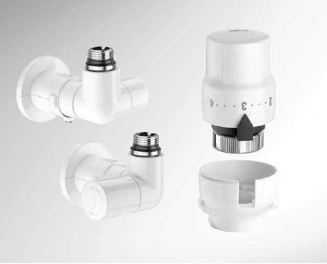 Valves and accessories for radiators HIGH-STYLE by CALEFFI