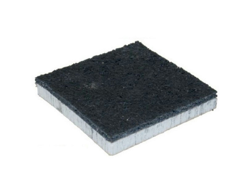 Rubber sound insulation panel DAMPWALL AL - PROJECT FOR BUILDING