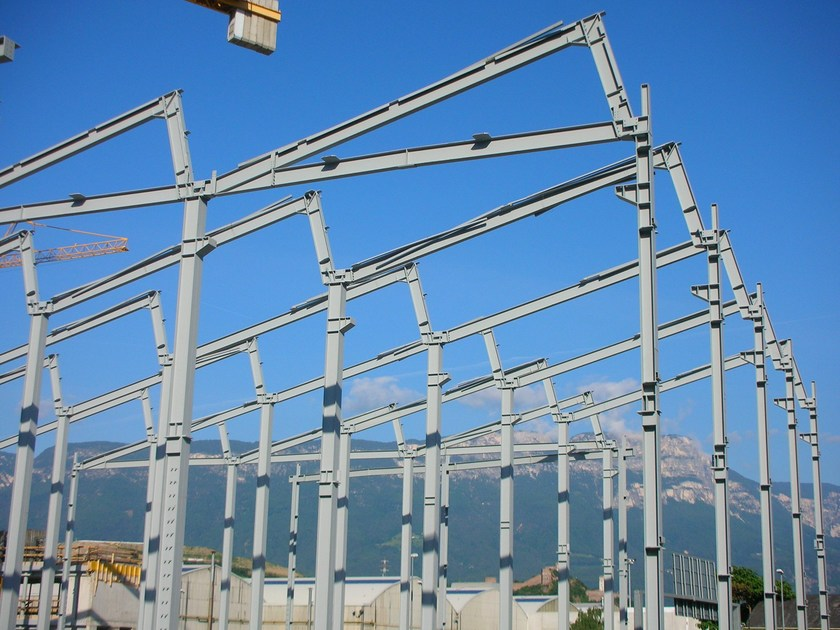 Steel building system Anti-seismic structure by STAHLBAU PICHLER