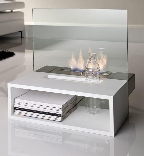 Bioethanol open vent free fireplace REFLEX | Bioethanol fireplace - ITALY DREAM DESIGN - Kallisté