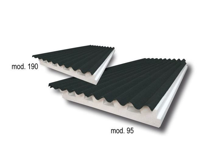 Thermal insulation panel LEUCOSONDA 95V - S.T.S. POLISTIROLI