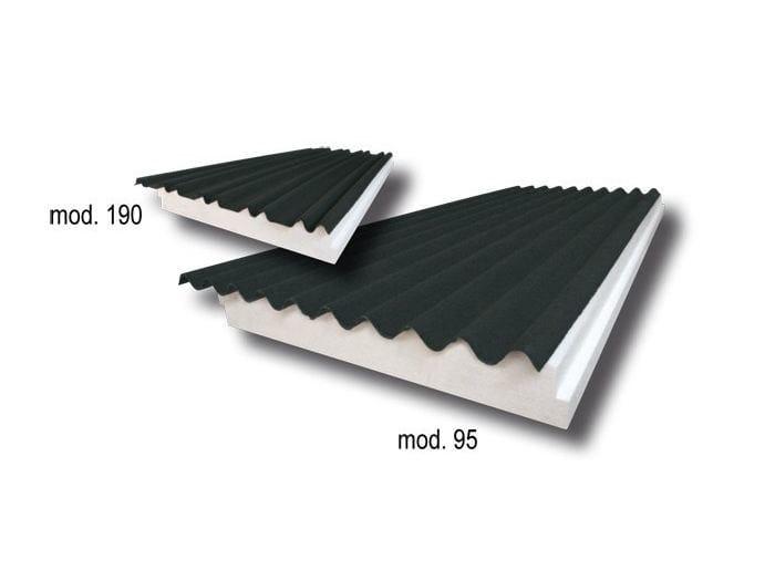 Thermal insulation panel LEUCOSONDA 95-190 - S.T.S. POLISTIROLI