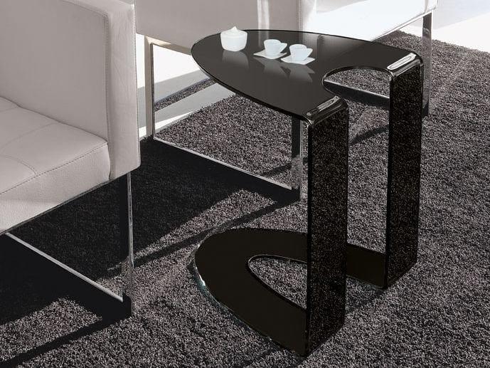 Design glass Clothes rail AMBROGIO by Italy Dream Design