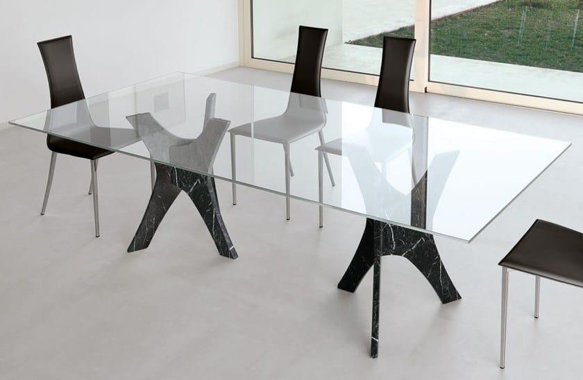 Rectangular table PANTHEON - ITALY DREAM DESIGN - Kallisté