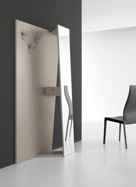 Design wall-mounted MDF coat rack YORK | Design coat rack - ITALY DREAM DESIGN - Kallisté