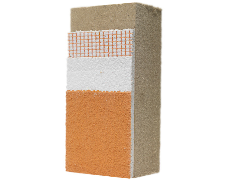 Wood fibre Exterior insulation system NORDTEX SYSTEM 190 - NORDTEX
