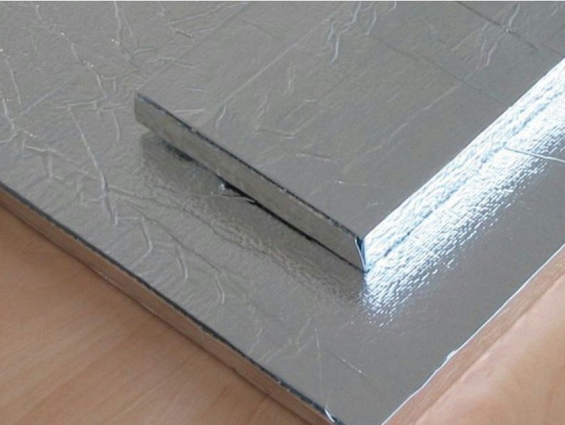 Mineral fibre Thermal insulation panel VAKUVIP STANDARD by NORDTEX