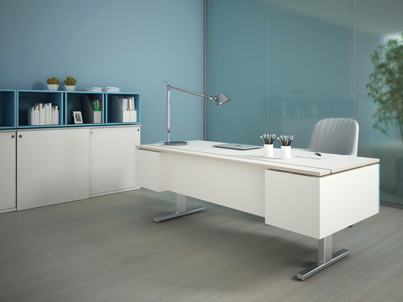 Rectangular workstation desk ASTERISCO IN | Office desk by ESTEL GROUP