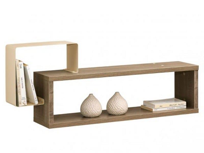 Wooden wall shelf TWEED | Wall shelf - GAUTIER FRANCE