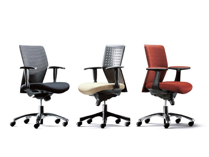 Polypropylene task chair with casters MOVISTAR - ESTEL GROUP