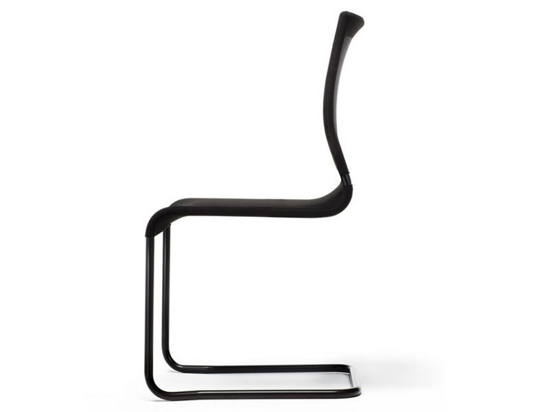 Cantilever fabric chair VERSO | Cantilever chair - ESTEL GROUP