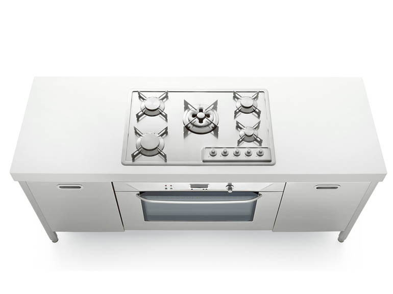 Stainless steel kitchen unit LIBERI IN CUCINA | Kitchen - ALPES-INOX