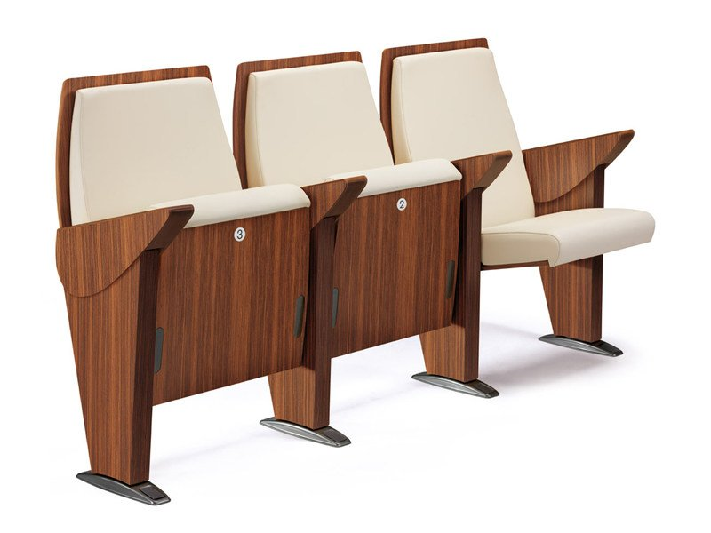 Auditorium seats ONE TO ONE - ESTEL GROUP