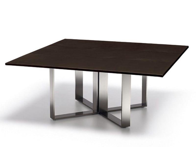 Rectangular aluminium coffee table ALTAGAMMA | Rectangular coffee table by ESTEL GROUP