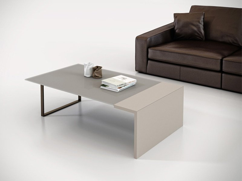 Rectangular wooden coffee table DECK | Coffee table - ESTEL GROUP