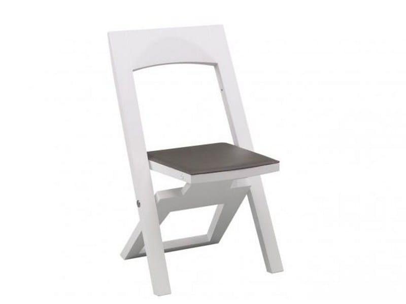 chaise pliante vasco collection cocktails by gautier france. Black Bedroom Furniture Sets. Home Design Ideas