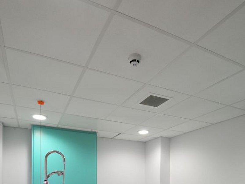 Ceiling tiles for healthcare facilities HYDROBOARD - ARMSTRONG Building Products