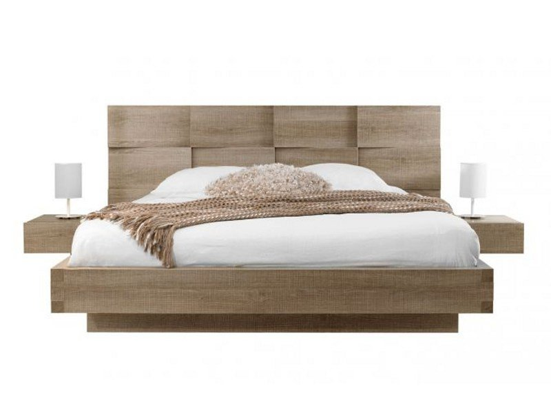 Oak double bed MERVENT | Double bed by GAUTIER FRANCE