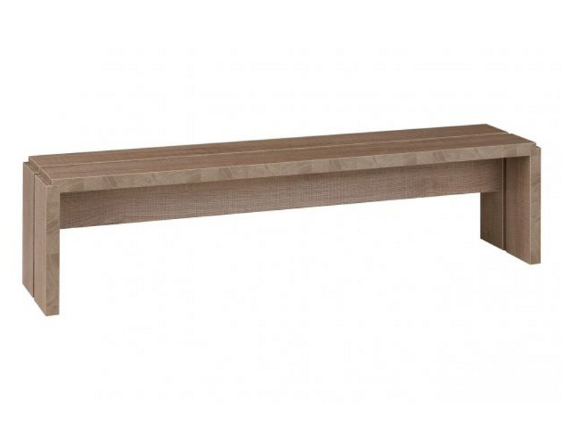Wooden bench MERVENT | Bench - GAUTIER FRANCE
