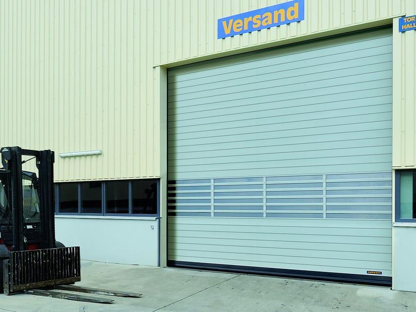 Rapid vertical roll-up door HS 7030 PU | Rapid vertical roll-up door - HÖRMANN ITALIA