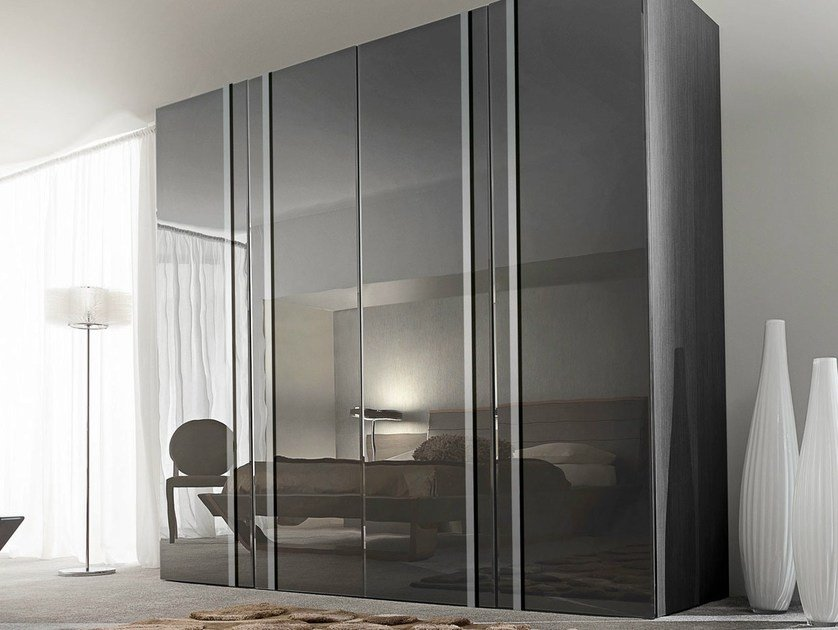 Glass wardrobe with sliding doors ODEA | Glass wardrobe - GAUTIER FRANCE