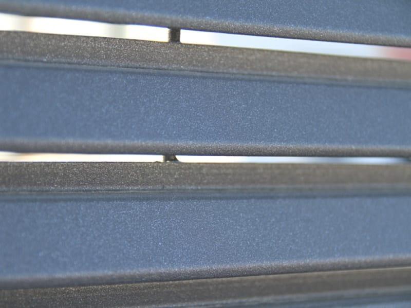 Recinzione modulare horizon grigliati baldassar for Finestre velux orizzontali