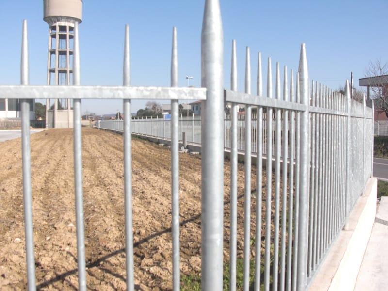 Recinzione in acciaio conisar by grigliati baldassar for Baldassar recinzioni