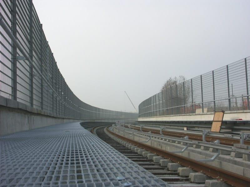 Modular steel Fence CLEAR - GRIGLIATI BALDASSAR