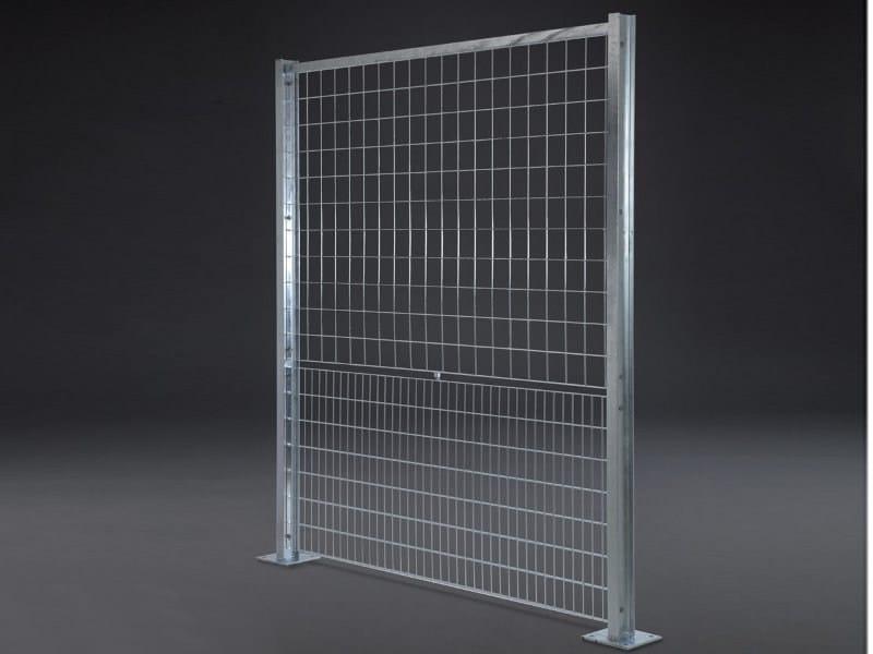 Recinzione modulare in acciaio olimpia by grigliati baldassar for Baldassar recinzioni