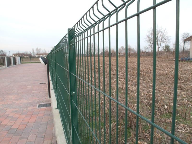 Recinzione modulare in rete elettrosaldata vega by for Baldassar recinzioni