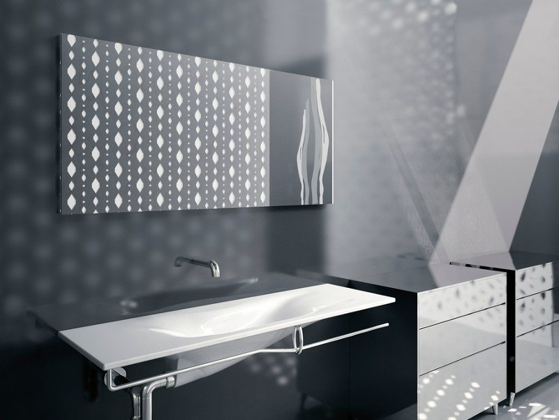 Bathroom mirror IMPRONTA | Bathroom mirror - CERAMICA CATALANO