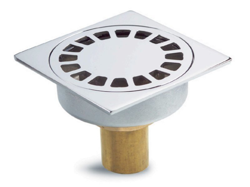 Manhole cover and grille for plumbing and drainage system Chrome Drain Cover - GRIGLIATI BALDASSAR