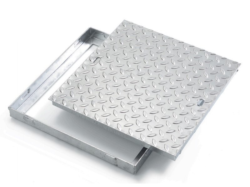 Manhole cover and grille for plumbing and drainage system SUPER TRANSIT - GRIGLIATI BALDASSAR