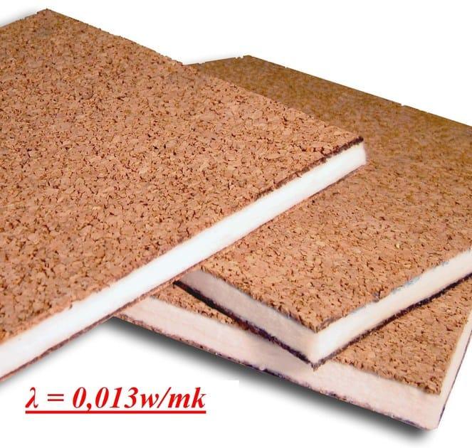 Panneau composite pour couverture en li ge cork gel by sace components - Panneau en liege ...