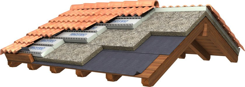 Ventilated roof system CELENIT | Ventilated roof system - CELENIT