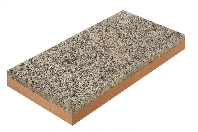 Natural insulating felt and panel for sustainable building CELENIT F2 - CELENIT