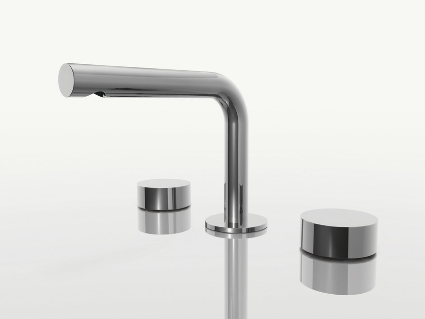 3 hole countertop washbasin tap AF/21 | 3 hole washbasin tap - ABOUTWATER