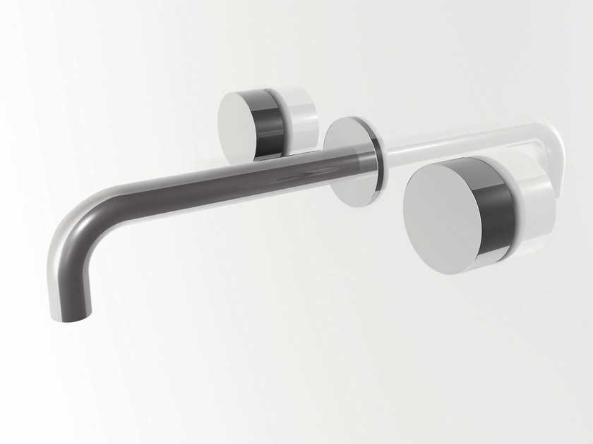 3 hole wall-mounted washbasin tap AF/21 | 3 hole washbasin tap - ABOUTWATER
