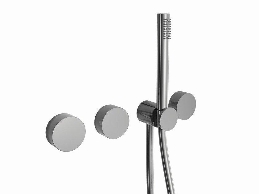 4 hole wall-mounted bathtub set with hand shower AF/21 | 4 hole bathtub set - ABOUTWATER
