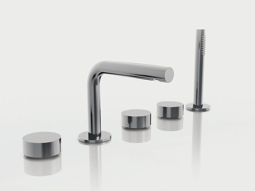 5 hole bathtub set with hand shower AF/21 | 5 hole bathtub set - ABOUTWATER