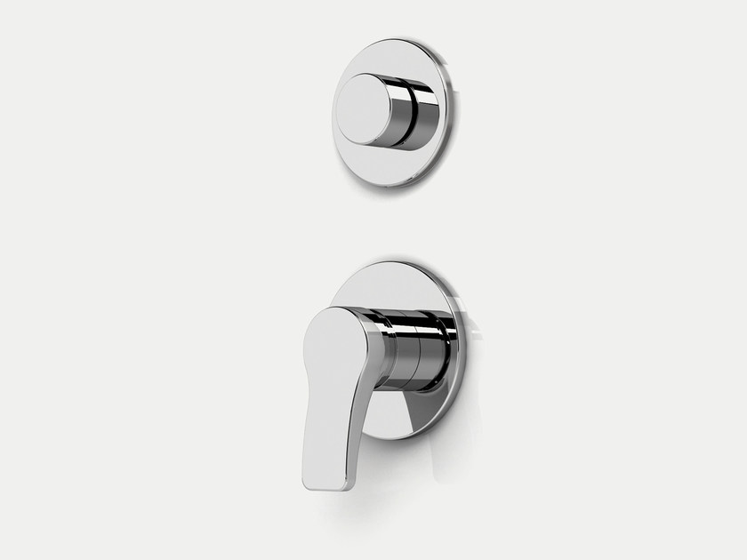 2 hole shower mixer with diverter AL/23   Shower mixer with diverter - ABOUTWATER